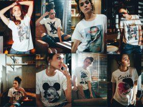 【CHOUCHOU ルクア イーレ店】ポップ&クールなデザインTシャツ<buggy(バギー)> POP UP SHOP