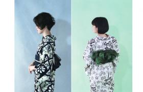 【フェア】見た目に涼しい浴衣とアクセサリー。「日本の夏。日本の涼。」