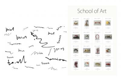 【フェア】MiOA ヘアアクセサリー 「School of Art」
