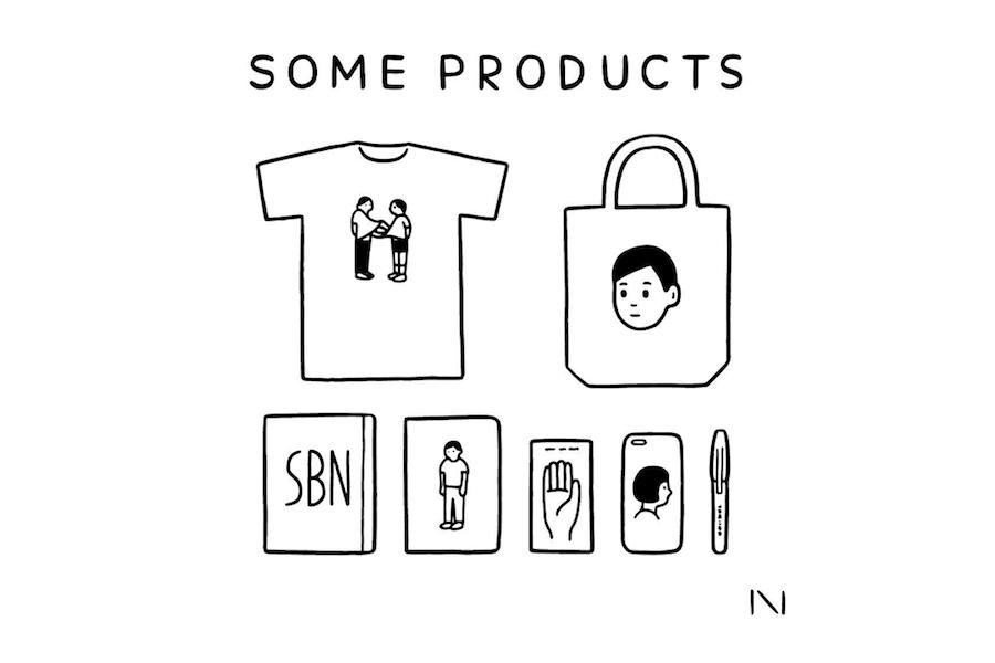 *終了しました【フェア】イラストレーター・Noritakeさんの最新プロダクトと活動を知る 〈SOME PRODUCTS in SPBS〉
