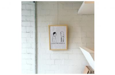 *【展示】イラストレーター・Noritakeさんによる月替わりの展示がはじまります