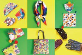 【フェア】民芸品・郷土玩具が描かれたテキスタイルのファッション雑貨〈Yokke Pokke(ヨッケポッケ)〉 POP UP SHOP