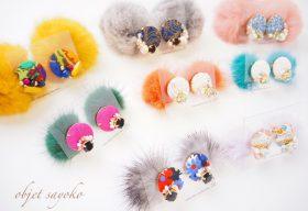 【フェア】キーワードは「花」「着物」。京都出身のハンドメイドアクセサリー〈objet sayoko(オブジェサヨコ)〉POP UP SHOP
