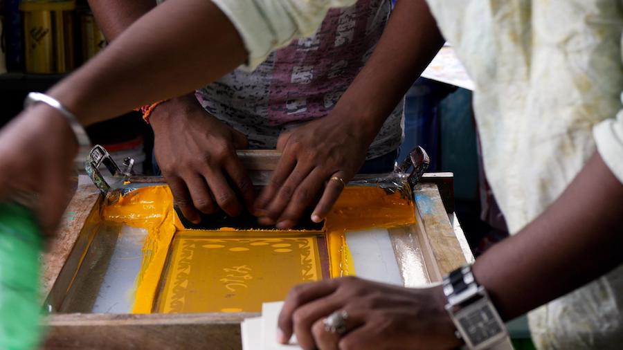 【イベント】映画『南インド、タラブックスの印刷工房の一日』上映会&トークイベント!  世界一美しい本をつくる小さな印刷工房の魅力を深掘る夕べ。