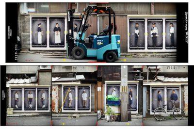 【展示】日本の〈働き者〉の姿を未来に届ける、フランス人アーティストK-NARFによるアートプロジェクト。〈HATARAKIMONO PROJECT〉× SPBS ART EXHIBITION