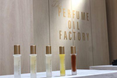 """*終了しました【フェア】気分に合わせて楽しむ""""オイル""""の香水〈The PERFUME OIL FACTORY〉POP UP SHOP"""
