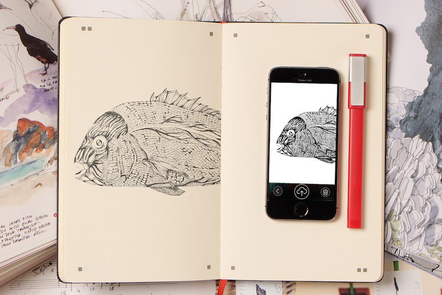 【フェア・イベント】ノートに描いた絵をリアルタイムでデジタル化「Moleskine Adobe Paper Tablet」発売記念フェア in SPBS