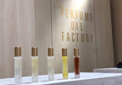 【フェア】華やかでやさしい、自然由来の香りをまとう〈The PERFUME OIL FACTORY〉POP UP SHOP