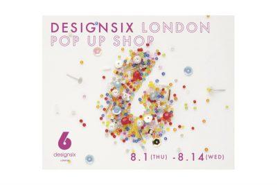 *終了しました【フェア】モデル・Kanocoさんコラボデザイン第2弾!〈designsix LONDON〉POP UP SHOP