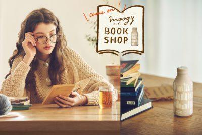 """【ギャラリー・フェア】「moogy BOOK SHOP」 """"moogy"""" と本がある暮らし。"""