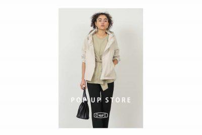 【フェア】春のトレンドと軽やかな着心地をお届け〈OandI〉POP UP SHOP
