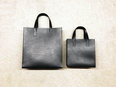 【オンラインフェア】人気の黒トートバッグ入荷! 職人の技術が詰まったクールな革小物〈REEL〉in SPBSオンラインショップ