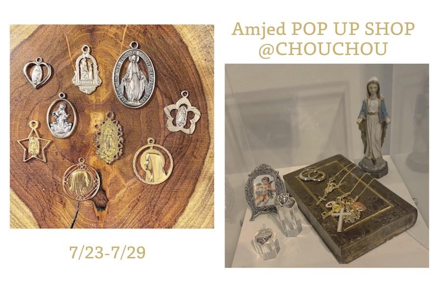 【フェア】夏のファッションに映えるアンティークアクセサリー〈Amijed〉POP UP SHOP