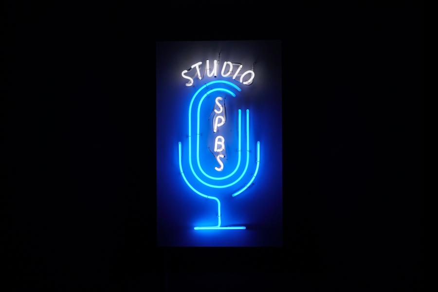 【お知らせ】studio SPBSオリジナルネオンが完成
