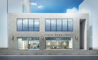 【お知らせ】11/7(土)渋谷区神山町に〈style department〉の旗艦店がオープン。SPBSが制作協力をしたMAPを配布