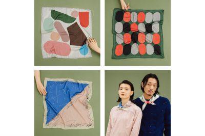 【フェア】新しい季節を彩る独創的なスカーフ〈pink pepper〉POP UP SHOP@SPBS TOYOSU