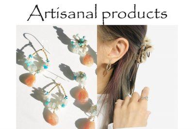 【フェア】職人の技術が光るアクセサリーたち〈Artisanal products〉POP UP SHOP